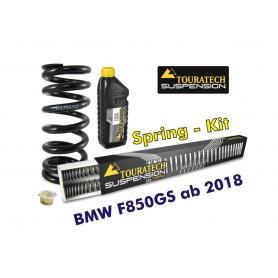 Resortes progresivos de intercambio para horquilla y tubo amortiguador, BMW F850GS desde el año 2018 muelles de intercambio