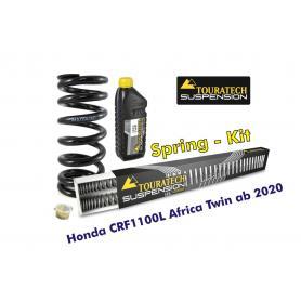 Muelles progresivos de intercambio para horquilla y tubo amortiguador, Honda CRF1100L Africa Twin del 2020