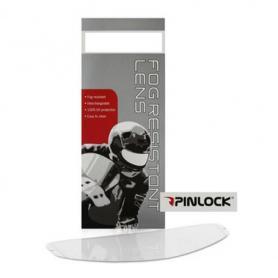 Pinlock visor para Touratech Aventuro Carbon2, transparente