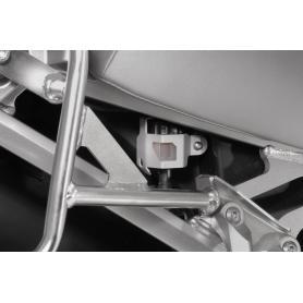 Cubierta del deposito de liquido de frenos trasero para Yamaha XT1200Z Super Tenere hasta 2013 Anodizado en aluminio natural