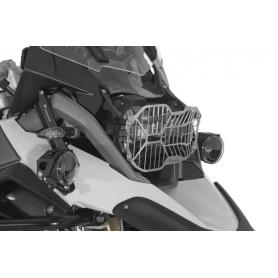 Protector de faros en acero inoxidable con cierre rapido para BMW R1250GS LC / R1200GS LC / R1200GS LC ADV